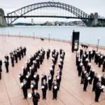 Парад Королевского австралийского военно-морского флота в Сиднее