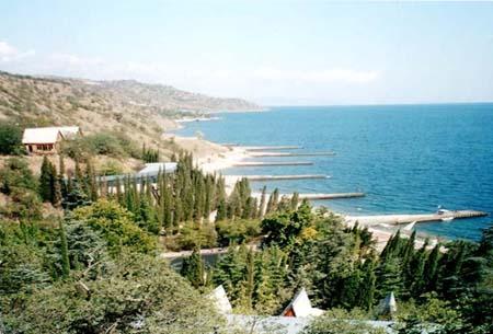 отдых на море Алушта