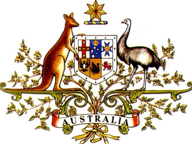 Герб Австралии.