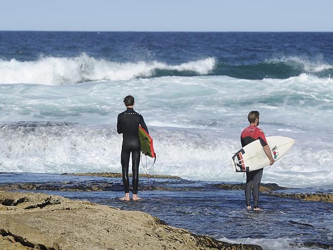 Пляж в Австралии.
