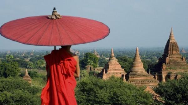 Храм Баган, Мьянма.