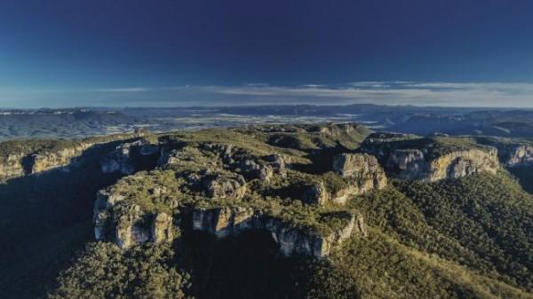 Голубые Горы в Новом Южном Уэльсе, Австралия