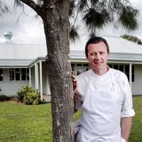 Шеф-повар Дэн Хантер ресторана Брей в Биррегурра, Виктория.