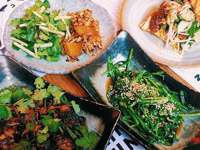 Выбор аппетитных блюд в Чин-Чин.