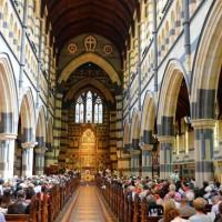 Богослужение на Рождество в соборе Святого Павла, Мельбурн. Фото: Джози Хайден.