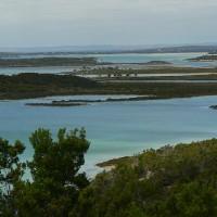 Вид с обзорной площадки Гоффин Бей / Coffin Bay Lookout