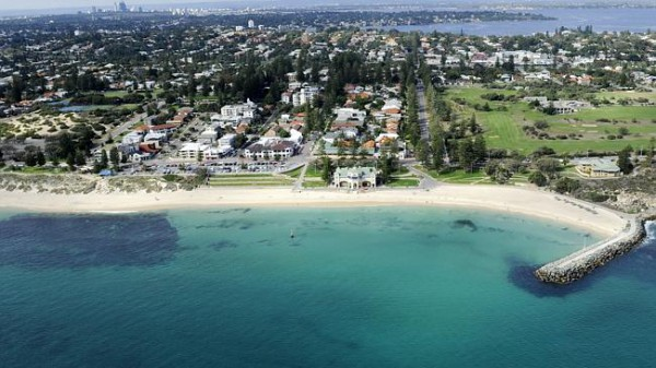 Коттесло Бич, Перт, Западная Австралия.