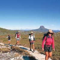 Расслабьтесь в Национальном парке Гора Кредл / Cradle Mountain, Тасмания.