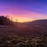 Восход солнца над Ронни Крик в Национальном Парке Кредл Маунтейн (Cradle Mountain National Park) в Тасмании. Фото: Иэн Элрик.