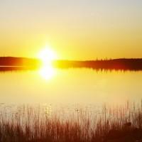 Финляндия - край озер.