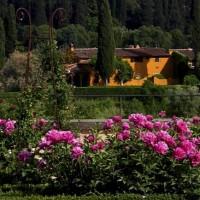 Сады Боболи во Флоренции, Италия являются раем для влюбленных.