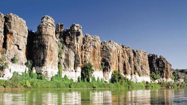 Ущелье Гейки и река Фицрой.