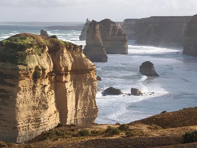 Вдоль Великой Океанской Дороги в Виктории.