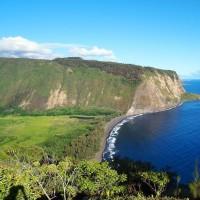 Красивый остров на Гавайях.