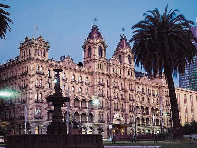 Отель Виндзор Windsor в Мельбурне.