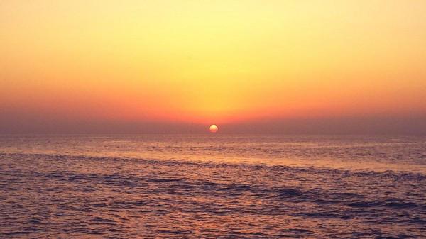 Закат на острове Ибица.