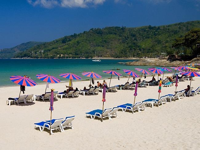 Пляж Ката, Пхукет, Таиланд.