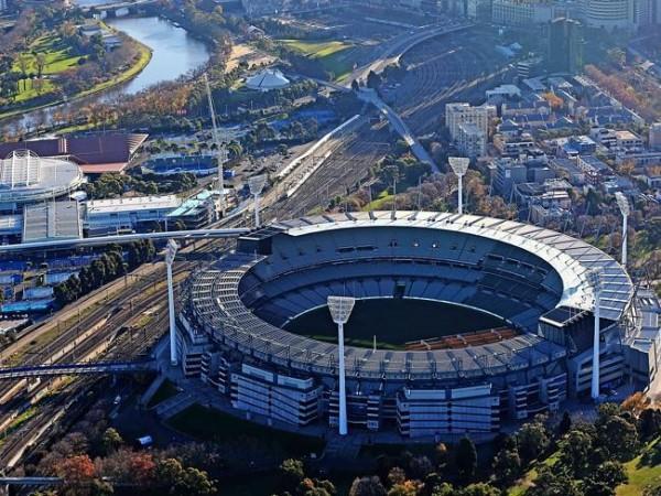 Cтадион MCG в Мельбурне.