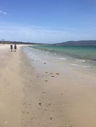 Пляж острова Мария, Тасмания.