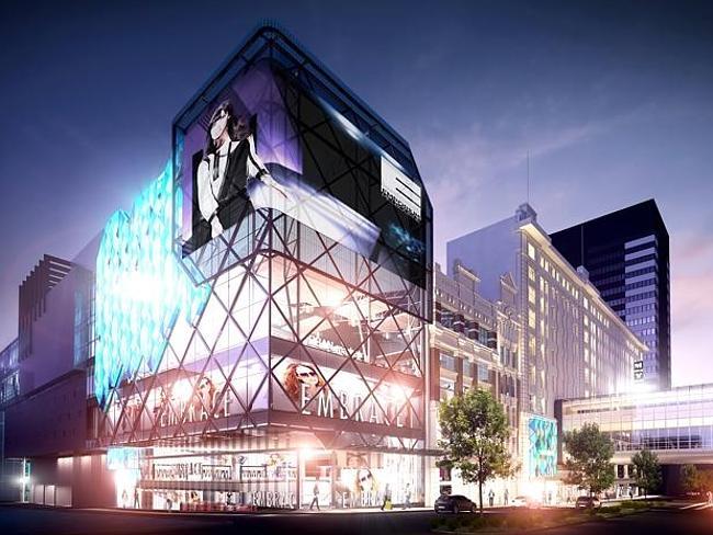 Главный торговый центр Мельбурна -  Эмпориум.