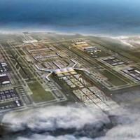 Конструкция нового аэропорта в Стамбуле.