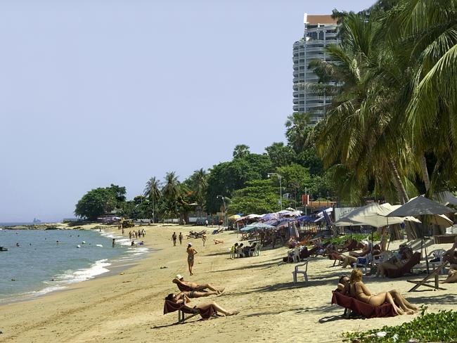Пляжи Паттайи.