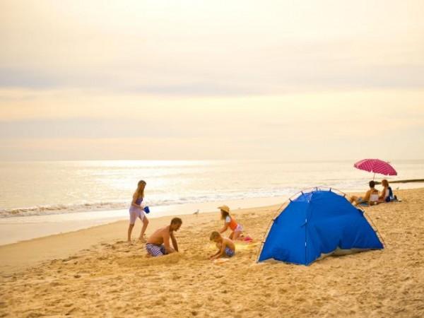 Порт Ноарлунга - идеальный семейный пляж.  Фото: Адам Брюзон / SATC