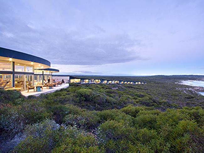 Лоджи Южного Океана / Southern Ocean Lodge - Остров Кенгуру, штат Южная Австралия.