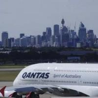 Аэропорт Сидней - Sydney skyline