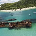 Тангалумская Бухта Затонувших Кораблей является частью Большого Барьерного Рифа, ч3