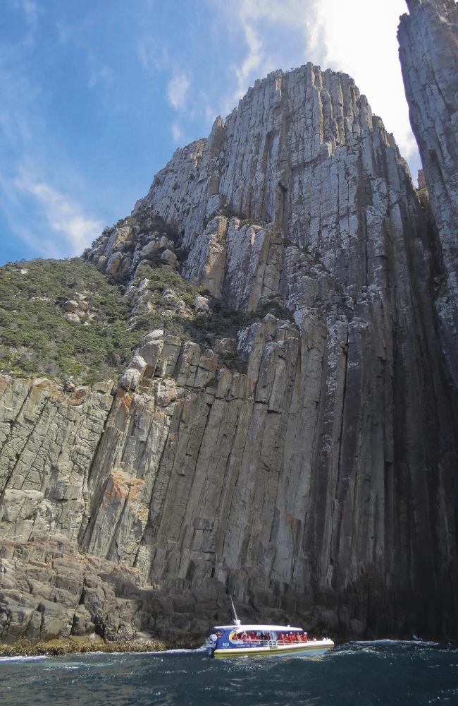 Круиз из Хобарта вокруг Острова Тасман.  Фото: Кэтрин Лихи