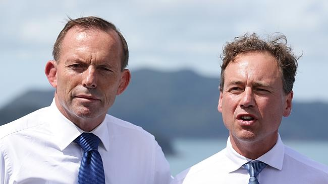 Tony Abbott and Greg Hunt announced Reef 2050