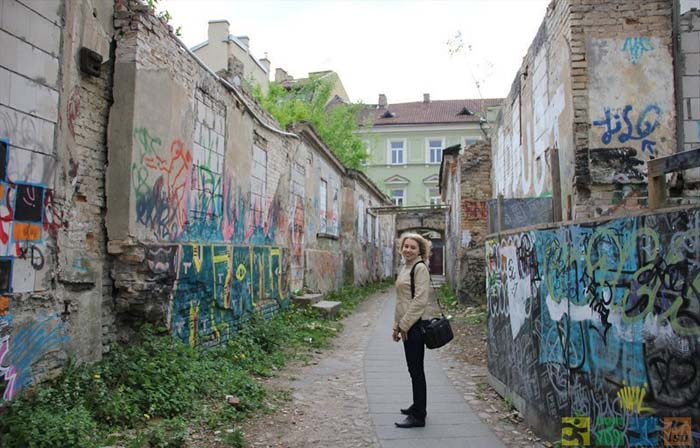 Ужупис, Вильнюс, Литва.