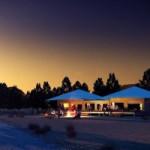 Люкс сафари палатки на ранчо Вилпена Паунд в Южной Австралии