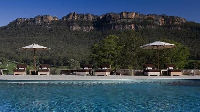 Новый взгляд на гламурный горный курорт Долина Вольган, Австралия.