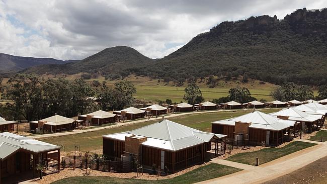 """Курорт """"Долина Вольган и Спа"""" в Голубых горах. Новый Южный Уэльс."""