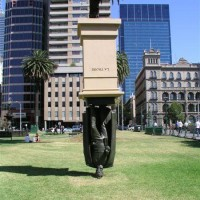 Памятник Чарльзу Ла Тробе, Мельбурн.
