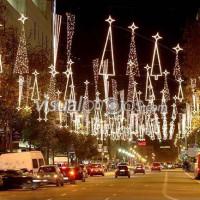 Рождество в Барселоне, Испания.