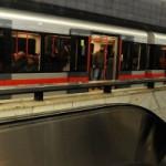 Чешский «Поезд Любви» в пражском метро