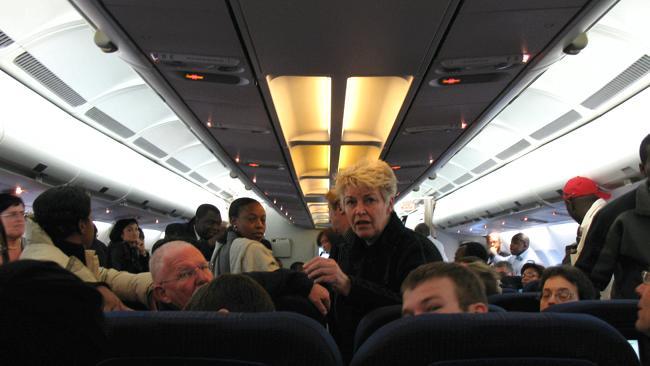 Золотые правила поведения во время полета