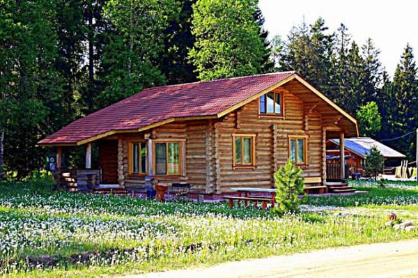 арендовать коттедж в лесу