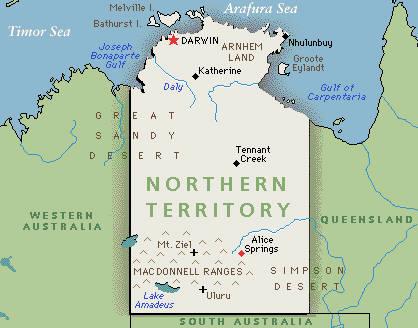 Northern territory — субъект федерации в