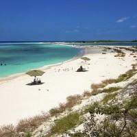 Пустые пляжи в раю.