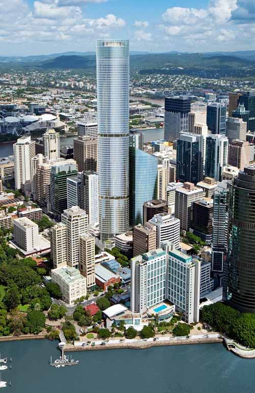 Проект 111+222 в Брисбен, Австралия.