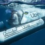 СкУбер: Убер анонсирует новый сервис подводного такси